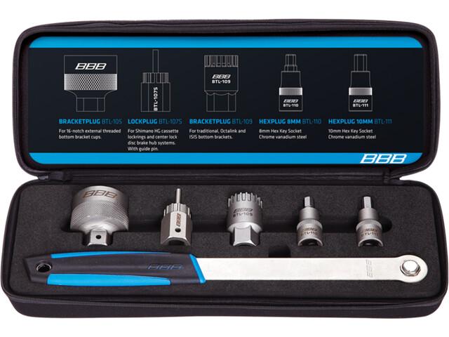 BBB Driveset Zestaw narzędzi BTL-112 6-częściowy, black